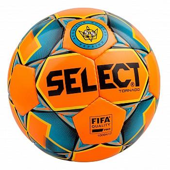 Мяч футзальный SELECT Futsal Tornado (FIFA Quality PRO)  помаран/синій