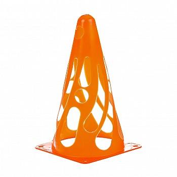 Конус тренировочный мягкий h23см  оранжевый