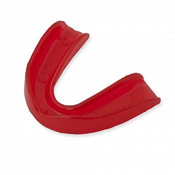 Капа одинарная силикон красная