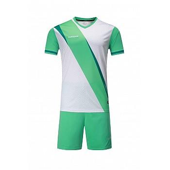 Футбольная форма Europaw 018 бело- бирюзовая [S]