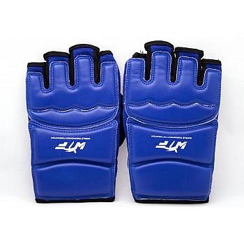 Накладки (перчатки) для тхэквондо синие [M]