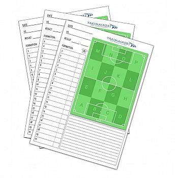 Блокнот Yakimasport для записей с футбольным полем